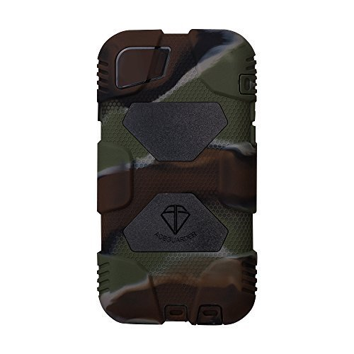 Iphone Case,ACEGUARDER®iphone 6 Case (Military Heavy Duty) *shockproof* *rain resistance* *anti-dirt* best case with Back Cover Standing and screen protector for Apple iphone 6 4.7Inch [iphone 6,Camo/Black] (Carbon Fiber Iphone 6case compare prices)