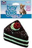 Vo-Toys Vinyl Chocolate Cake with Cherry Dog Toy