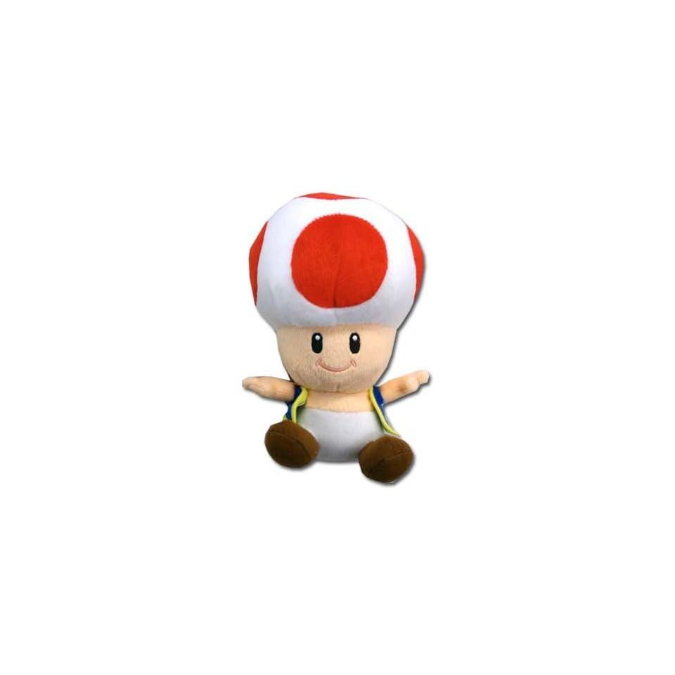 Nintendo Super Mario Bros. Toad Plush Toys & Games