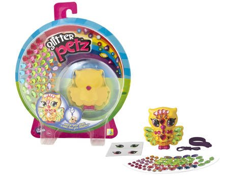 The Orb Factory Glitter Petz Luna Owl
