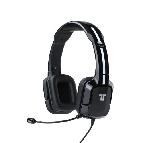 Tritton Kunai Universal Stereo Headset - For Ps4, Ps3, And X360 - Black