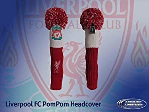 Liverpool Fc Pompom Golf Headcover - Red/White, Fairway