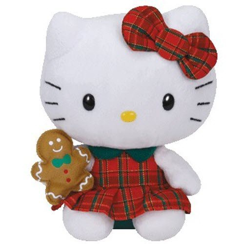 Ty Hello Kitty - Red Plaid Dress