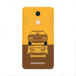 Back cover for Redmi Note 3 Muscle Power