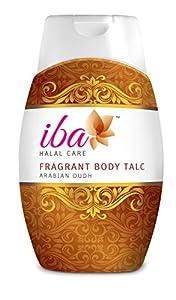 Iba Halal Care Fragrant Body Talc Arabian Oudh, 100g