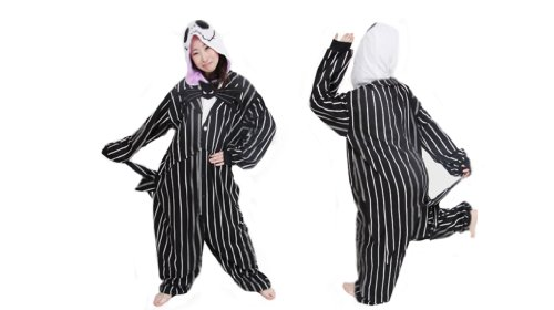 The-Nightmare-Before-Christmas-Jack-Skellington-Skeleton-Romper-Adult-Men-Women-Unisex-Animal-Kigurumi-Cosplay-Pajamas-Outfit-Nonopnd-Nightclothes-Onesies-Halloween-Costume-Clothing