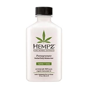 Hempz Herbal Body Moisturizer, Light Pink, Pomegranate