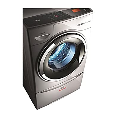 IFB Senator Smart Sx Touch Fully-automatic Front-loading Washing Machine (8 Kg, Silver)