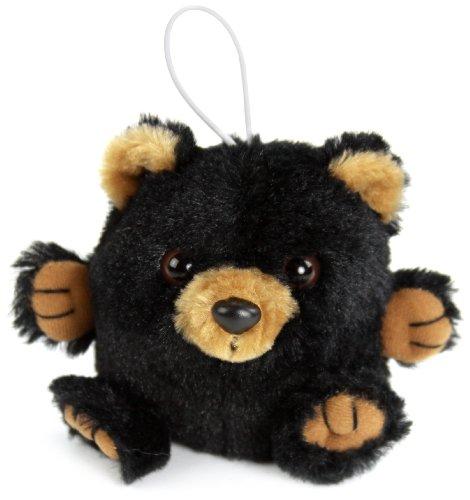 Purr-Fection Randy Cushy Critter Black Bear Plush
