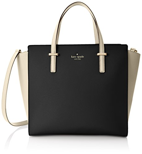 kate spade new york Cedar Street Hayden Top Handle Bag, Black/Pebble, One Size (Kate Spade Tops compare prices)