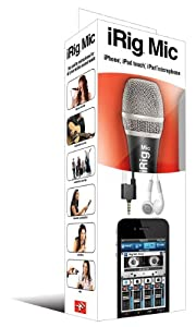 IK Multimedia iRig Mic for iPhone, iPod Touch,iPad