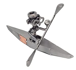 The Kayak Metal Figurine