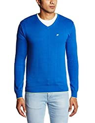 People Men's Cotton Sweater (8903880690113_P10101188003314_XX-Large_Royal Blue)