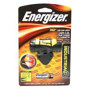 Energizer Industrial 360 2-Led Cap Light, Yellow/Black (Batteries Included)