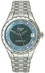 Tissot Couturier Automatic Black Dial Stainless Steel Ladies Watch T0722071112800