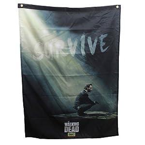 The Walking Dead AMC Rick Grimes Survive Banner from Calhoun Sportswear