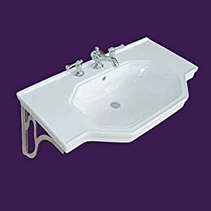 Wall Mount Bathroom Sinks with Wall Mount Bathroom Faucet also Cast ...