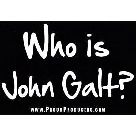 Who Is John Galt Bumper Sticker Everything Else
