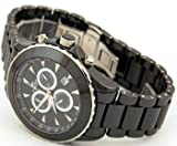 Paris ON621-M Black Swiss Chronograph Men's Watch