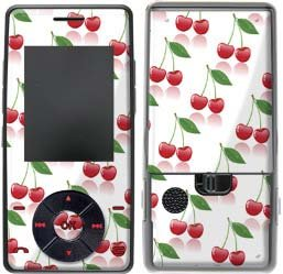 Cherry Design Protective Skin Decal Sticker for LG Chocolate VX8500 Cell Phone