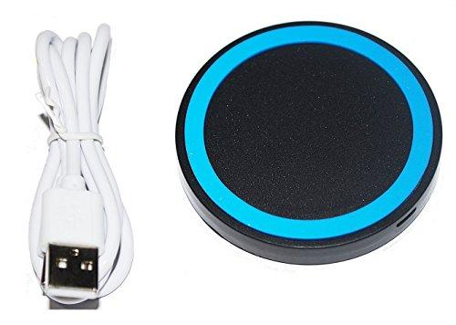 Qi チー ワイヤレスチャージャー ワイヤレス給電 充電器 スマホ 丸型