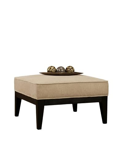 Abbyson Living Heritage Square Ottoman As You See