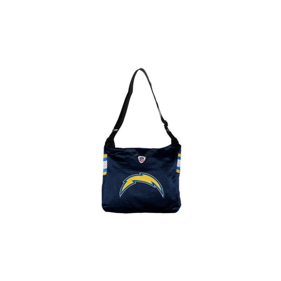 SAN DIEGO CHARGERS NFL MVP JERSEY TOTE BAG PURSE NEW LARGE LOGO