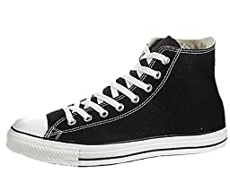 Converse Chuck Taylor All Star Hi Men US 9.5 Black Athletic Sneakers