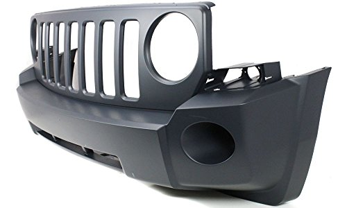 New Evan-Fischer EVA17872033113 Front BUMPER COVER Primed Direct Fit OE REPLACEMENT for 2007-2010 Jeep Patriot *Replaces Partslink CH1000893 (Jeep Patriot Front Bumper compare prices)