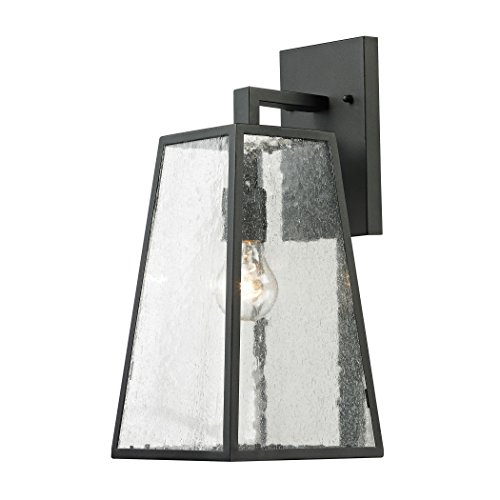 Elk Lighting 7621EW/73 Mediterano Light Exterior Wall Mount, Charcoal (Exterior Wall Mount Fans compare prices)