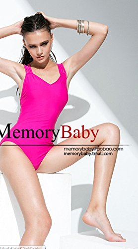 [QWG Victoria's secret sexy Europe foreign trade original band piece swimming costumes , rose red ,] (Victoria Secret Swimming Costume)