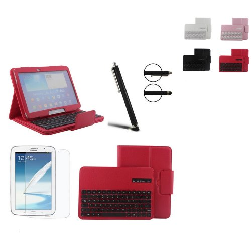 Buy Cheap Boriyuan Free Screen Protector + Screen Touch Stylus + Wireless Bluetooth Keyboard Leather...