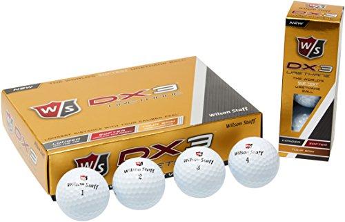 wilson-staff-golf-golfballe-w-s-dx3-urethane-12-ball-weiss-one-size-wgwp39200