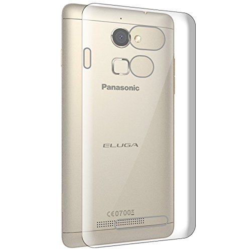 ECellStreet Exclusive Transparent Soft Back Case Cover Back Cover For Panasonic Eluga Mark