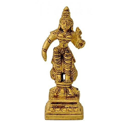 gangesindia-pie-diosa-lakshmi-laton-figura