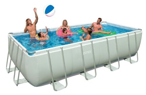 Intex Ultra Frame 18-by-9-Foot-by-52-Inch Rectangular Pool Set (Older Model)