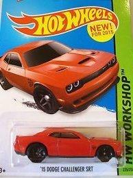 Hot Wheels, 2015 HW Workshop, '15 Dodge Challenger SRT [Red] Die-Cast Vehicle #235/250 (Dodge Challenger Srt Diecast compare prices)