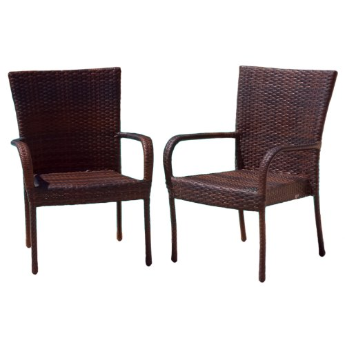 Best Selling Outdoor Wicker Chairs, 2-Pack image