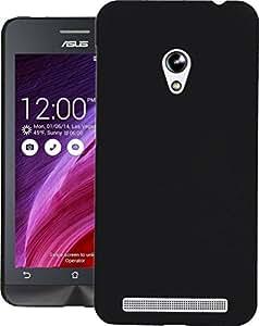 Asus Zenfone 4 A450CG Case, Extra Slim Swan Hard Case Case Back Cover for Asus Zenfone 4 A450CG Black