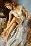 Woman Primavera by Di Scenza, Ron- Fine Art Print on CANVAS : 30 x 45 Inches