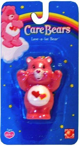 "Care Bears Love-A-Lot Bear 2.5"" Figure front-1022827"