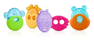 Nuby Ice Gel Teether, Animal