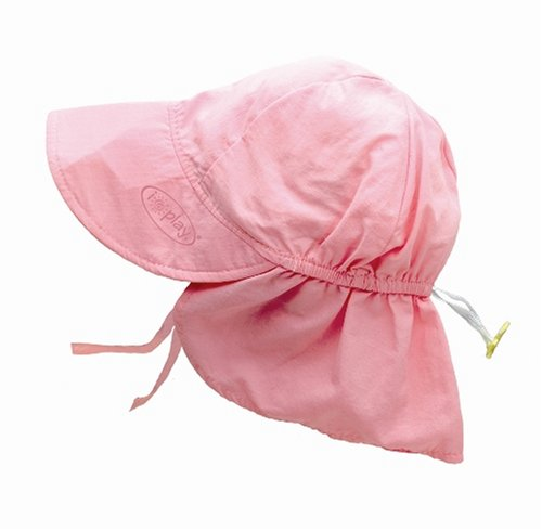 i play. Baby Flap Sun Protection Swim Hat, Light Pink, 9-18 Months (Solid Brim Sun Protection Hat compare prices)