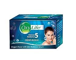 Oxy Life Bleach Oxygen Power With Skin Radiance Serum, 27g