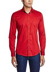 Easies Men's Casual Shirt (8907395196399_81541 MAINE E702UASFFSSC PERSNRD_Medium)