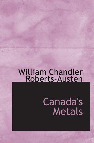 Canada'S Metals