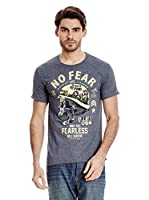 No Fear Camiseta Bravery (Gris Oscuro)