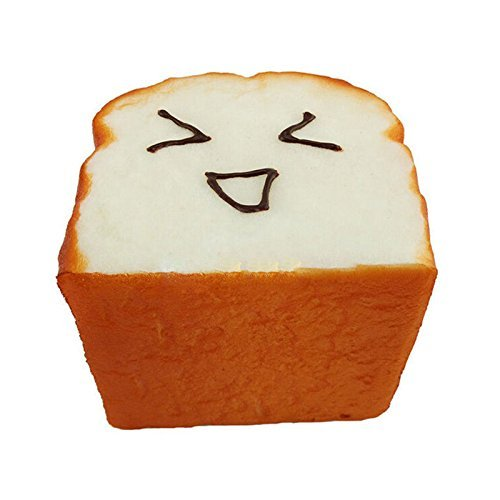 Great-DealTM-1-Kawaii-Toast-Squishy-Expression-Card-Cellphone-Holder-Hand-Pillow-Toy