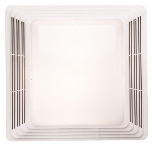 Broan Model 680 Fan/Incandescent Light, 100 Cfm 4.0 Sones, White Grille