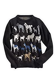Green 3 Apparel Made in USA Retro Dog Sweater